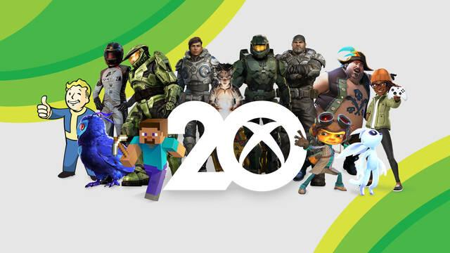 Xbox celebra su 20 aniversario.