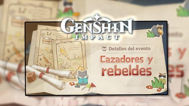 Genshin Impact: Gana Protogemas gratis en Cazadores y rebeldes, el nuevo evento