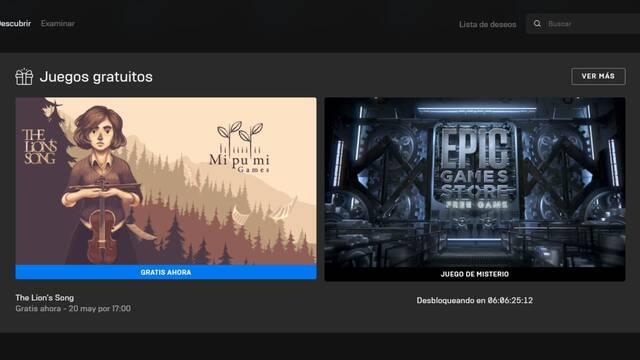 Epic Games Store regalará un juego misterioso la semana que viene