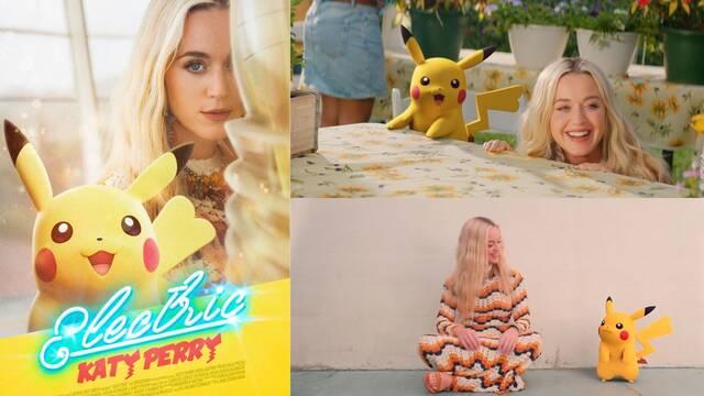 Katy Perry presenta el tema Electric de Pokémon