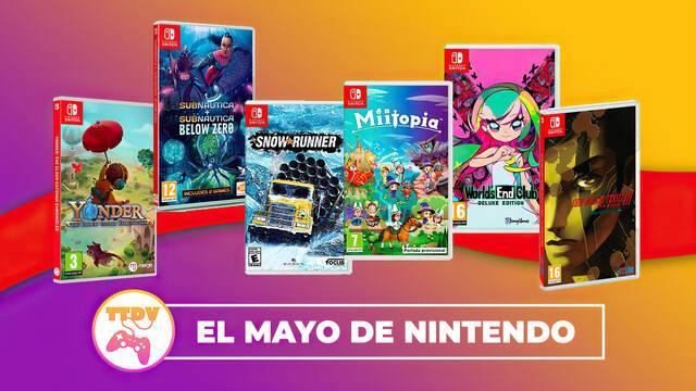 TTDV repasa los lanzamientos del mes en Nintendo Switch que ya puedes comprar y reservar