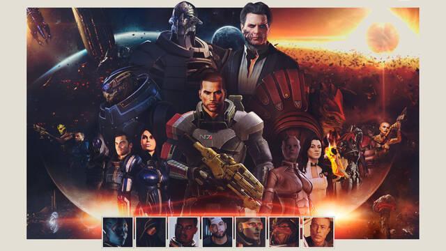 Mass Effect Legendary Edition duración completista DLC