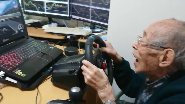 Youtuber 93 años simuladores de coches