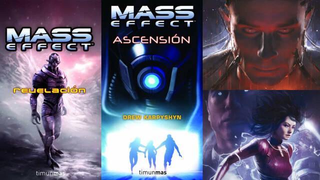 Mass Effect Libros novelas orden