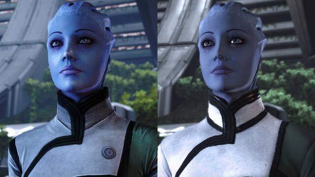 Comparativa de Mass Effect: Legendary Edition en Xbox Series X con los originales de Xbox 360.