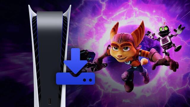 Ratchet & Clank: Una Dimensión Aparte ocupará 42 GB en el SSD de PS5.