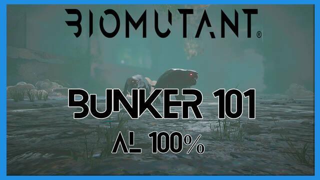 Bunker 101 en Biomutant al 100%: consejos y qué hacer