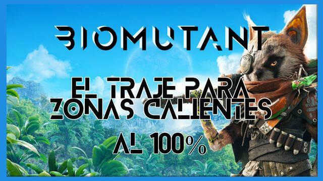 Biomutant: El traje para zonas calientes - Cómo completarla