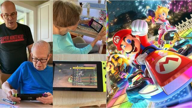 Doug Bowser enseña a sus padres a jugar a Mario Kart 8 Deluxe