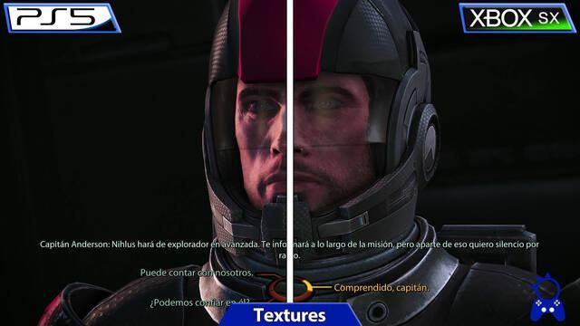 Mass Effect: Legendary Edition rinde mejor en Xbox Series X que en PS5, según comparativa