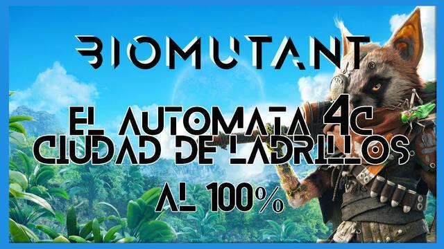 Biomutant: El autómata 4C / Ciudad de ladrillos - Cómo completarla