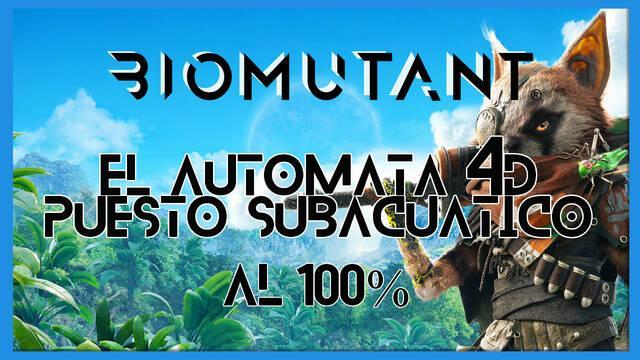 Biomutant: El autómata 4D / Puesto subacuático - Cómo completarla