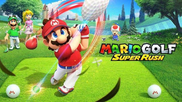 Super Mario Golf: Super Rush recibe un tráiler con la lista de personajes y un nuevo modo