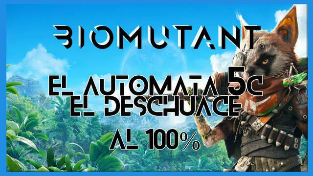 Biomutant: El autómata 5C / El Deschuace - Cómo completarla