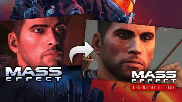 Mass Effect Legendary Edition: Todos los cambios respecto a los juegos originales.