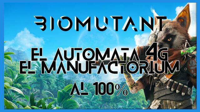 Biomutant: El autómata 4G / Manufactorium - Cómo completarla