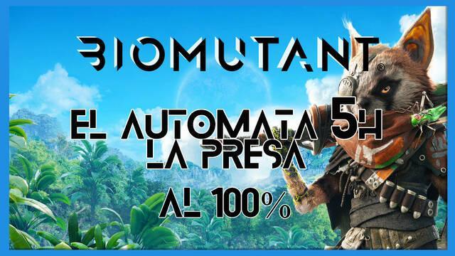 Biomutant: El autómata 5H / La presa - Cómo completarla