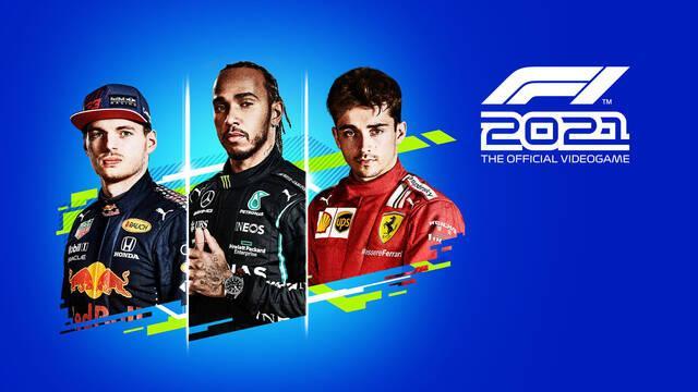 F1 2021 desvela su portada oficial y contenido de su edición Deluxe.