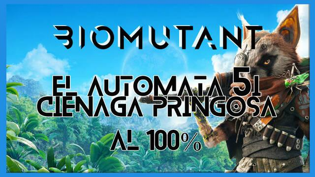 Biomutant: El autómata 5I / Ciénaga Pringosa - Cómo completarla