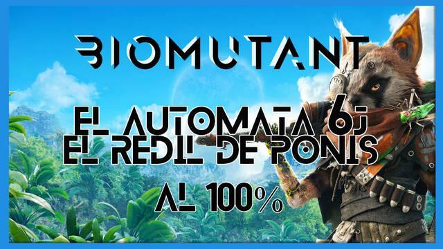 Biomutant: El autómata 6J / El redil de ponis - Cómo completarla