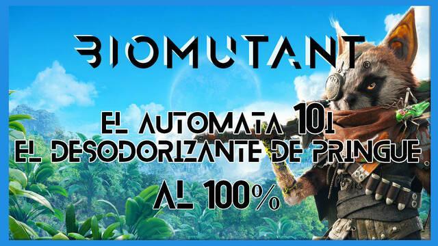 Biomutant: El autómata 10I / El desodorizante de pringue - Cómo completarla