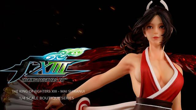 Así es la nueva figura de Mai Shiranui, luchadora de SNK, de casi 900 euros