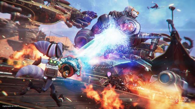 Ratchet and Clank: Una dimensión aparte muestra sus divertidas armas en un nuevo tráiler.