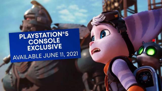Ratchet and Clank: Rift Apart es 'exclusivo en consolas de PS5', según su último tráiler.