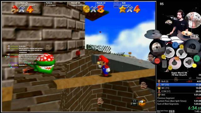 Super Mario 64 y el speedrunner  de la batería
