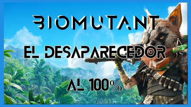 Biomutant: Encuentra los desaparecedores - Cómo completarla