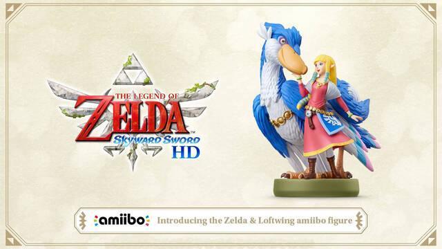 Nintendo anuncia el nuevo amiibo de Zelda para The Legend of Zelda: Skyward Sword HD