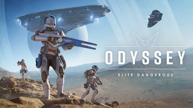 Elite Dangerous Odyssey tráiler de lanzamiento