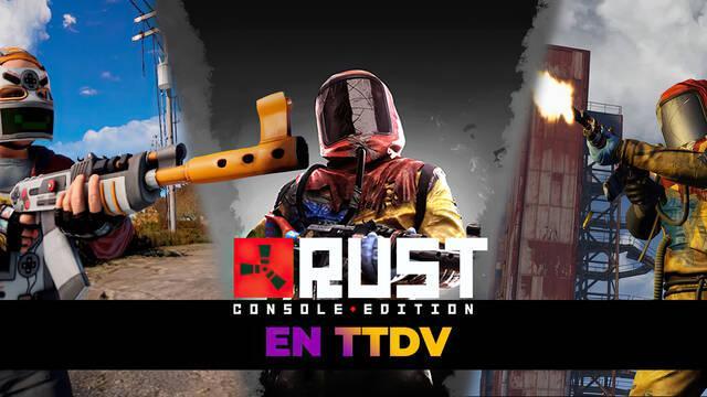 Rust: Console Edition ya se puede reservar en TTDV