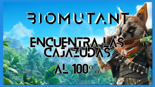 Biomutant: Encuentra las cajazudas - Cómo completarla