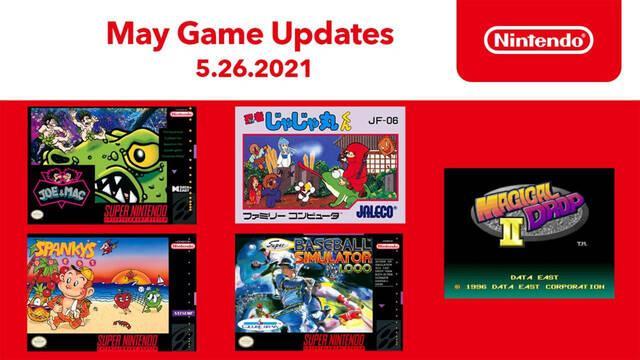 Nintendo Switch Online recibe nuevos juegos clásicos para las aplicaciones de NES y SNES