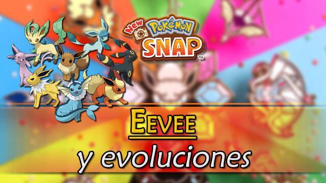 New Pokémon Snap: Dónde encontrar a Eevee y sus evoluciones