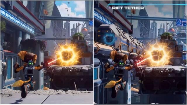 Ratchet and Clank: Una Dimensión Aparte: Así han cambiado sus gráficos desde Gamescom 2020.