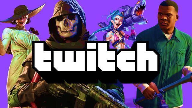 Top 15 de juegos más vistos en Twitch.