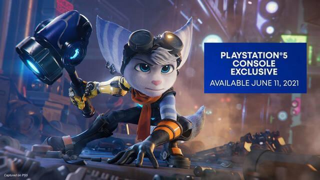 Insomniac Games confirma que Ratchet & Clank: Una Dimensión Aparte es exclusivo de PS5