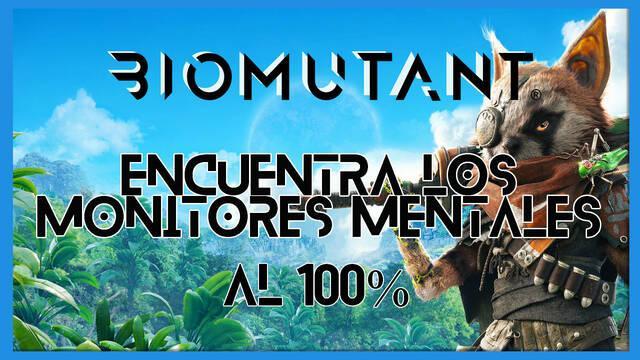 Biomutant: Encuentra los monitores mentales - Cómo completarla
