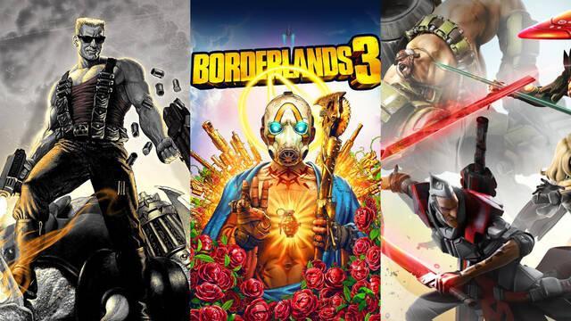 Gearbox Nuevo juego creadores Borderlands