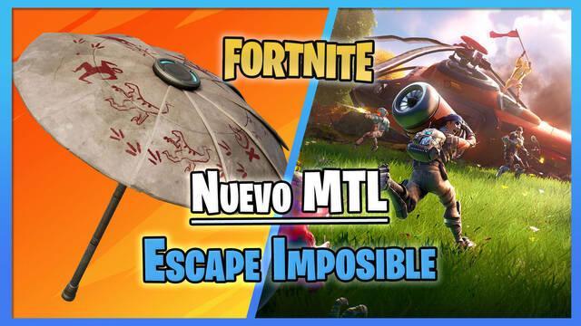 Fortnite: Nuevo MTL Escape imposible; fechas y cómo ganar recompensas gratis