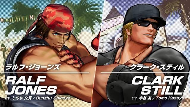 The King of Fighters 15 presenta a Ralf Jones y Clark Still en acción con vídeo e imágenes