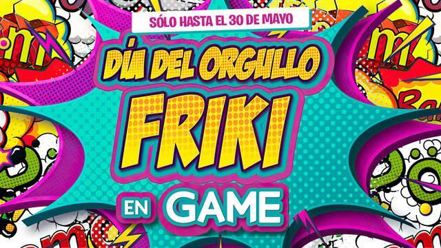 GAME España anuncia ofertas en juegos, consolas y más con motivo del Día de orgullo friki