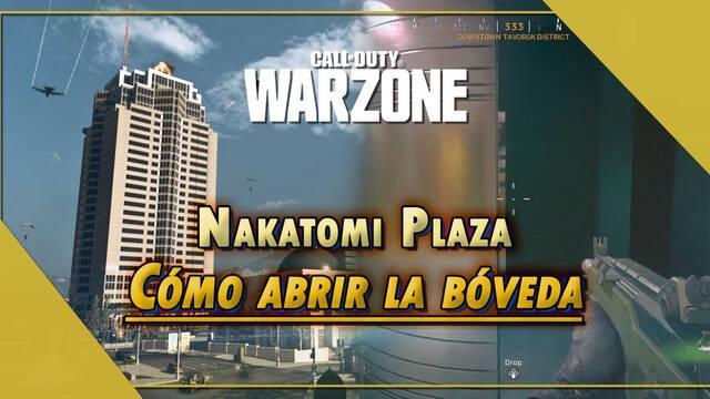 COD Warzone: Cómo abrir la bóveda del Nakatomi Plaza y obtener recompensas