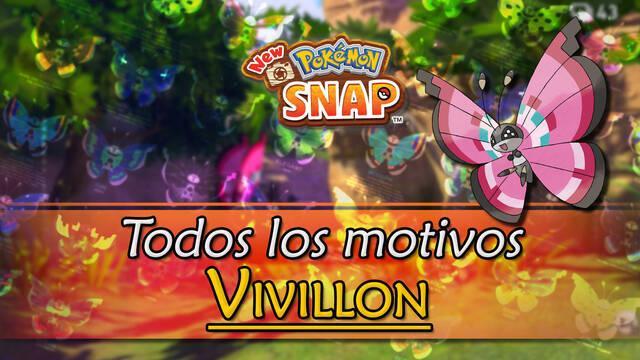 New Pokémon Snap: Cómo encontrar a Vivillon y todos sus motivos