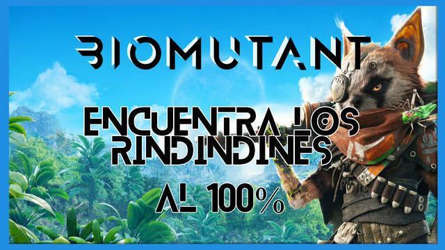 Biomutant: Encuentra los rindindines - Cómo completarla