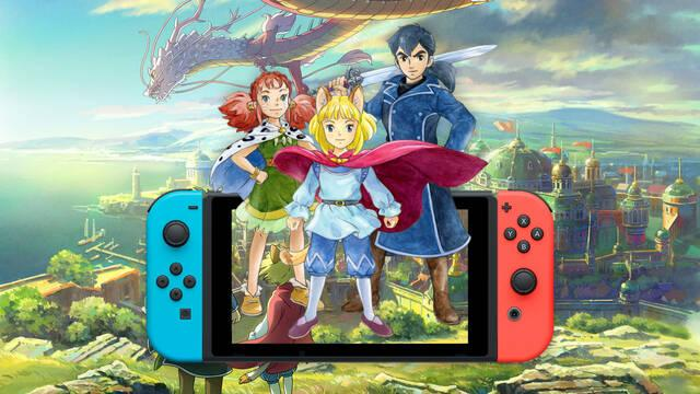 Ni No Kuni II: El Renacer de un Reino llegará a Switch el 17 de septiembre.