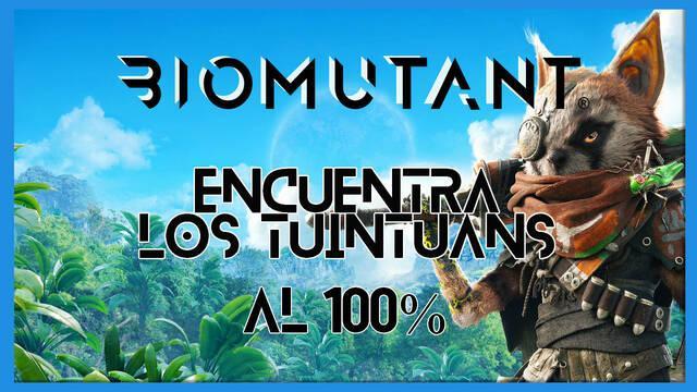 Biomutant: Encuentra los tuintuáns - Cómo completarla