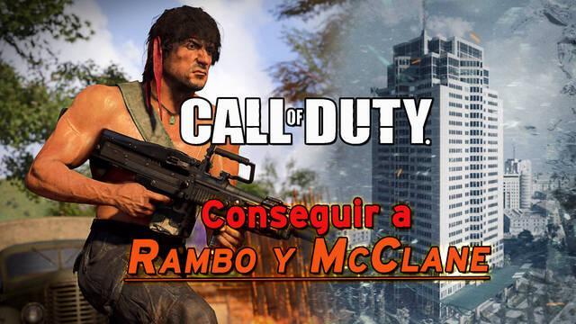 Call of Duty: Cómo conseguir a Rambo y McClane en Warzone y Black Ops Cold War
